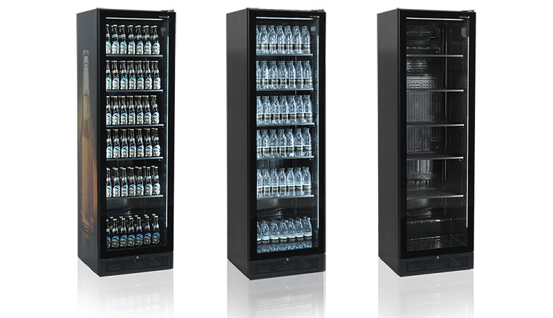 Elegant new frameless display cooler